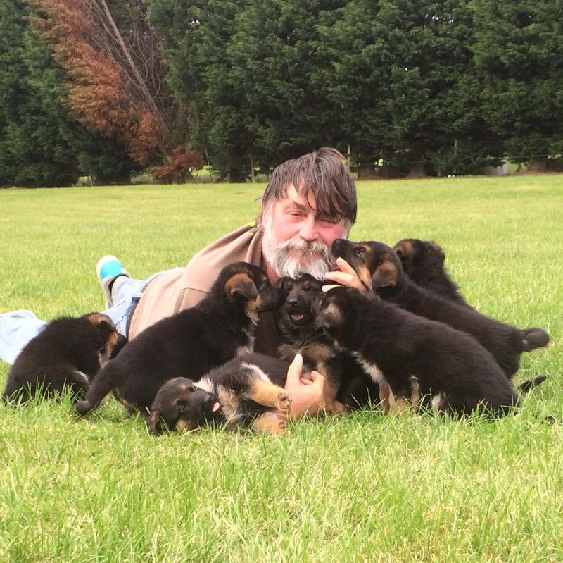Me with pups